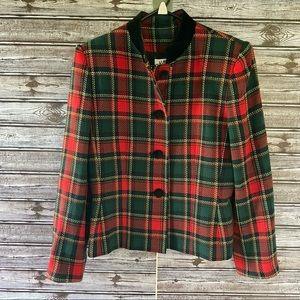 Vintage Kasper Button-Down Blazer/Jacket Size 6